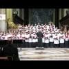 Esibizione del Saint Anthony's high school chorus presso la cattedrale di Acireale