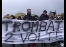 Ass. 104 Orizzontale – Corteo di protesta per il PalaVolcan – Acireale