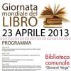 """Acicastello festeggia """"La Giornata Mondiale del libro"""""""