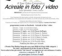 Contest videofotografico: Acireale in foto/video per il premio Nino Bottino