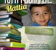 """A Catania, Letteratura e solidarietà: """"Tutti i libri…per Mattia"""""""