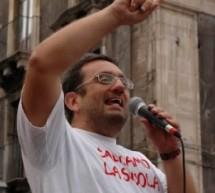 """Luca Cangemi del circolo PRC """"Olga Benario"""", contro i tagli all'integrazione scolastica dei diversamente abili"""