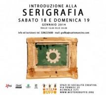 Introduzione alla serigrafia: workshop ad Acireale
