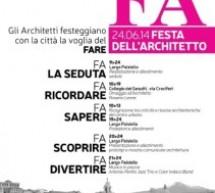 Festa dell'Architetto 2014 a Catania