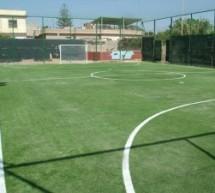Nella zona Locu di Aci Catena si inaugura il terzo campetto sportivo