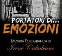 """L'ass. 104 Orizzontale inaugura la personale di Irene Caltabiano """"Portatori…di emozioni"""