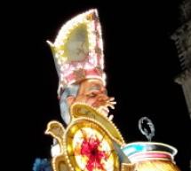 Proclamazione dei carri vincitori, ultimo atto del Carnevale Acireale 2015