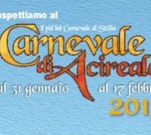 Carnevale di Acireale2015: Programma 14 -15 febbraio