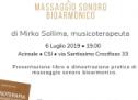 Acireale: evento sulla Suonoterapia a cura del dott. Mirko Sollima