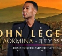 John Legend: Taormina 4ever, conferenza stampa