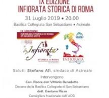 Acireale: Cerimonia di Premiazione per l'Infiorata Storica di Roma