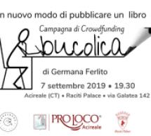 Acireale: presentazione di Bookabook e Bucolica di Germana Ferlito