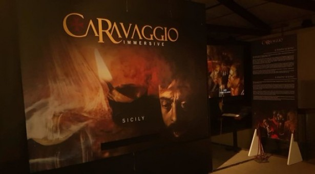 Caravaggio Immersive al Castello Ursino Catania