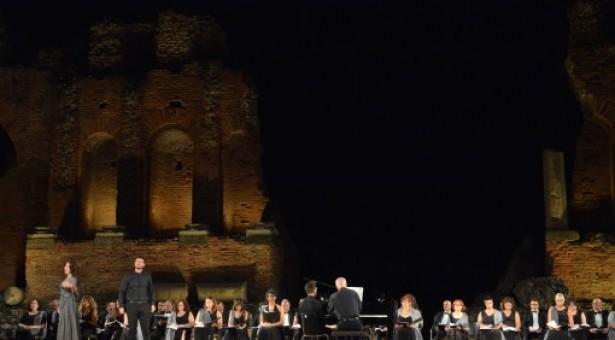 Aida a Taormina: la replica