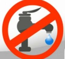 Guardia e Mangano: 21/11 sospensione erogazione idrica