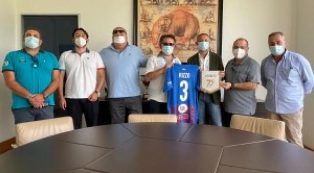 Sport, delegazione dell'Unione stampa sportiva italiana al Calcio Catania Cordiale e proficuo confronto con l'amministratore unico, Nico Le Mura