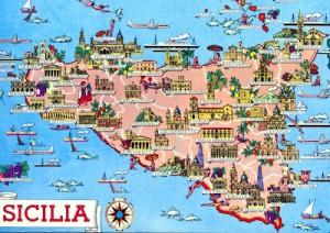 Sicilia-cartolina