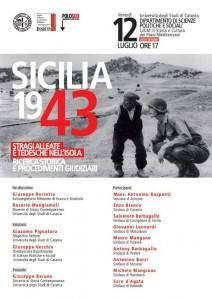 Seminario: Sicilia 1943. Stragi alleate e tedesche nell'Isola