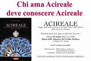 Presentazione del libro «Acireale. Viaggio nella storia, nel barocco, nei tesori d'arte e nelle tradizioni della città di Aci e Galatea»