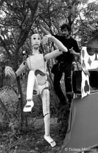 Ezio Scandurra e le sue sculture animate.