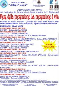 A San Nicolò, il mese della prevenzione.