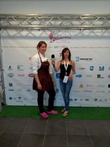Monika Rodzen, vincitrice del premio Don Angelino.
