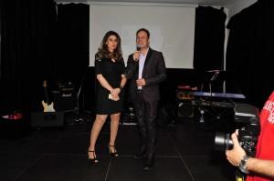 Federica Saglimbene, CEO di Feiana sul palco dello Skyfall. Foto di Massimo Pantano.