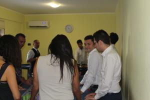 candidati alle selezioni della Scuola Croupier Catania