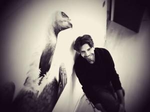 L'artista Corrado Inturri