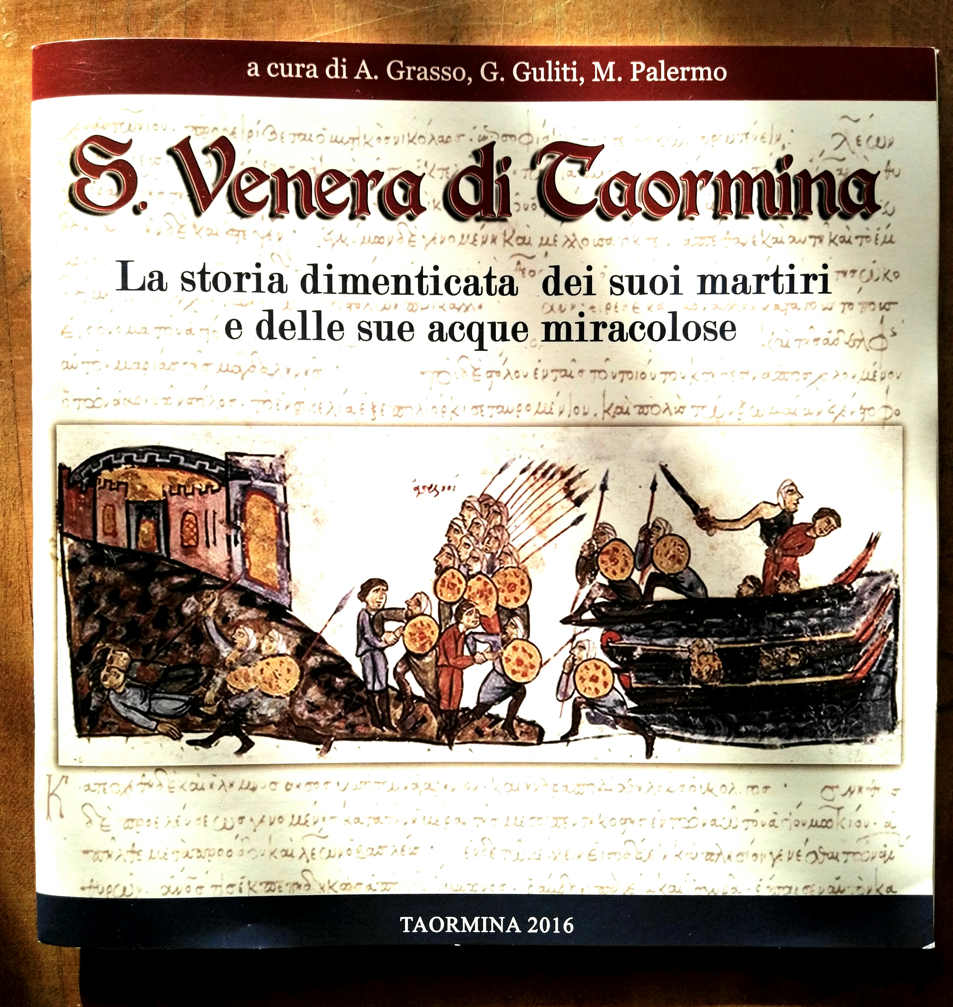 Foto copertina libro: Santa Venera di Taormina
