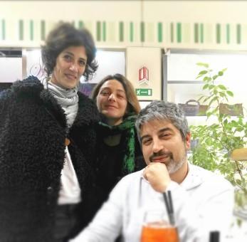 Francesca Franco e Arcangela Trimarchi con il direttore, dott. Simone Rao.