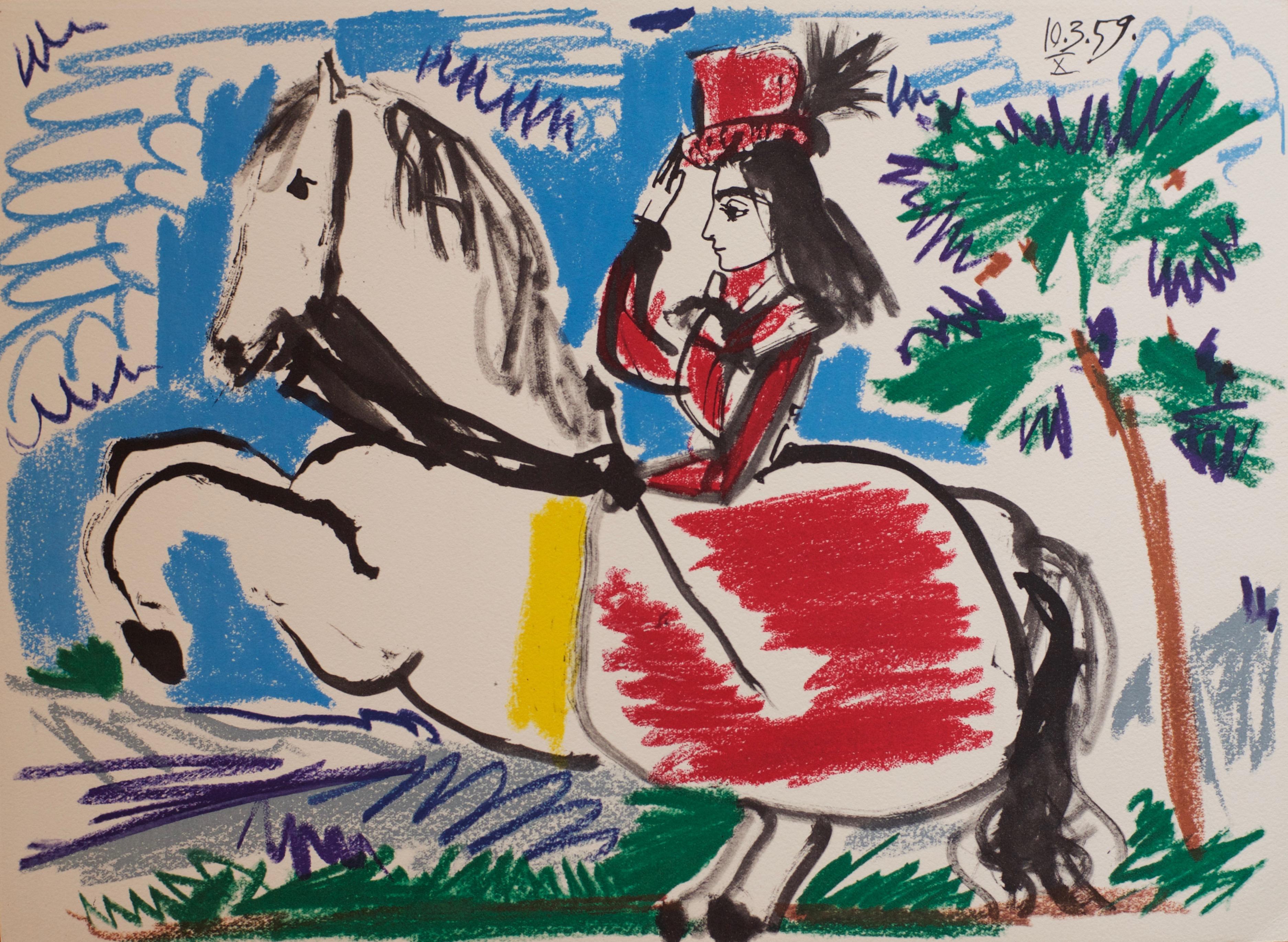 6_Pablo Picasso_Da TOROS Y TOREROS_Amazone X 10-03-1959