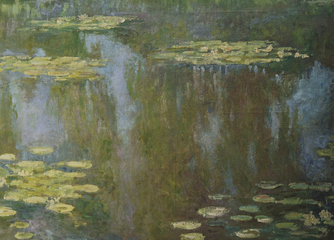 CLAUDE MONET Les Nymphéas