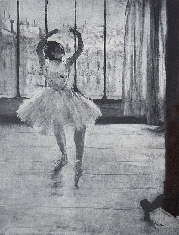 EDGAR DEGAS La danseuse chez le photographe