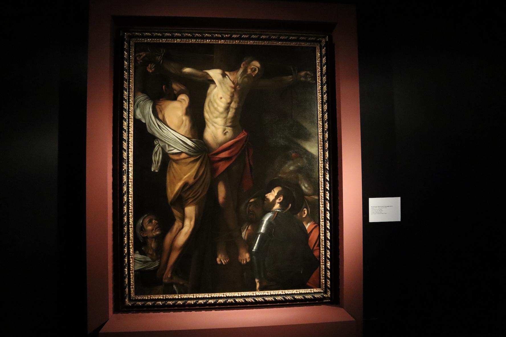 La crocifissione di Sant'Andrea