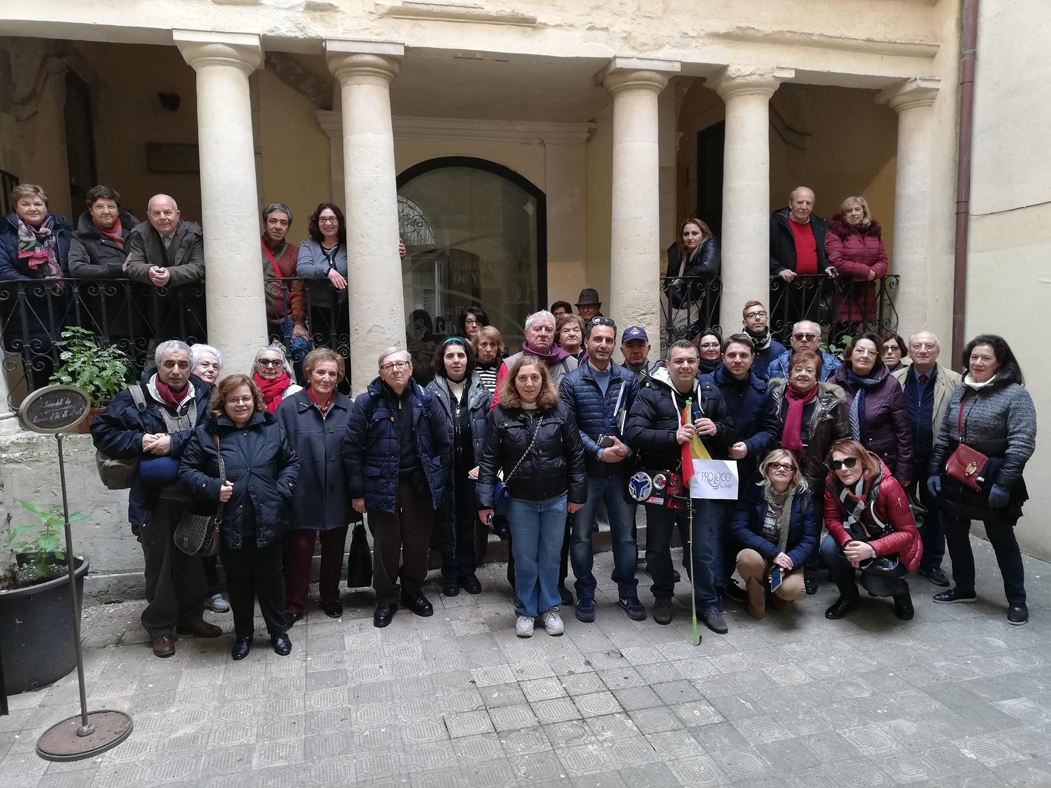 Pro Loco Acireale e Pro Loco Giarre in visita a Chiaramonte Gulfi.