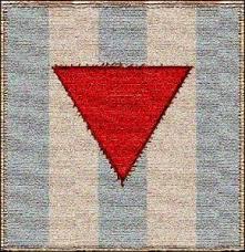 il triangolo rosso, nei campi di concentramento, serviva a distinguere i prigionieri politici, tra cui i massoni, dagli altri prigionieri.