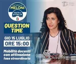 drago question time 15lug21
